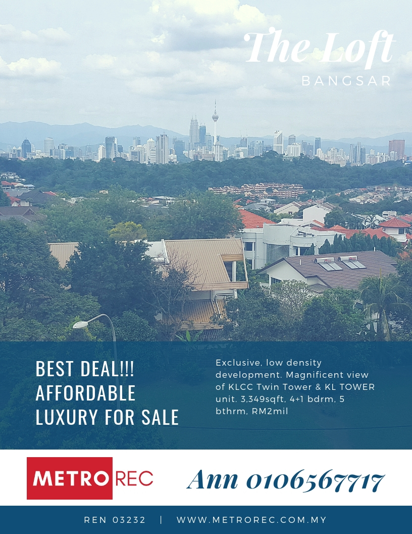Good buy house for sale in Bangsar