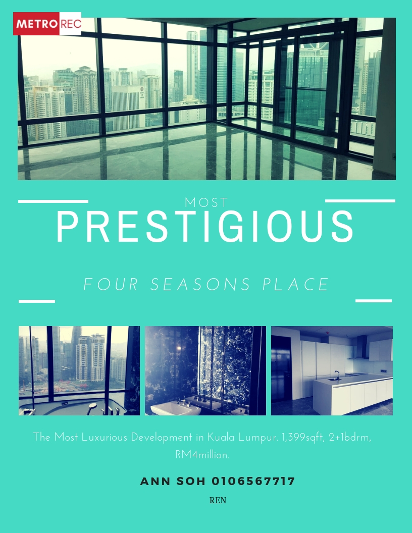 Four Seasons Place for sale