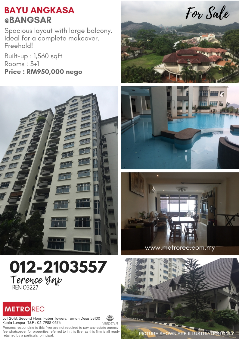 Bayu Angkasa Condominium, Bangsar