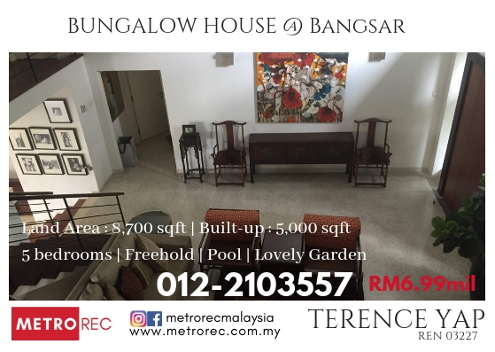 Bungalow house @ Bangsar