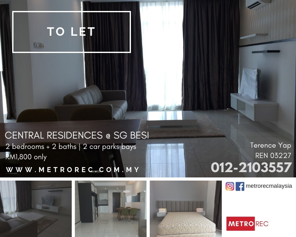 Central Residences @ Sg Besi To Let