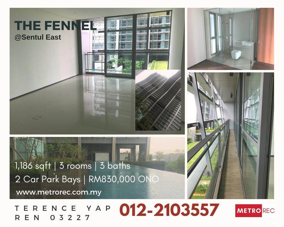 The Fennel @ Sentul East for Sale