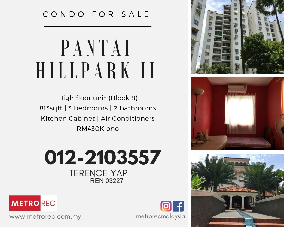 Pantai Hillpark II Condo for sale