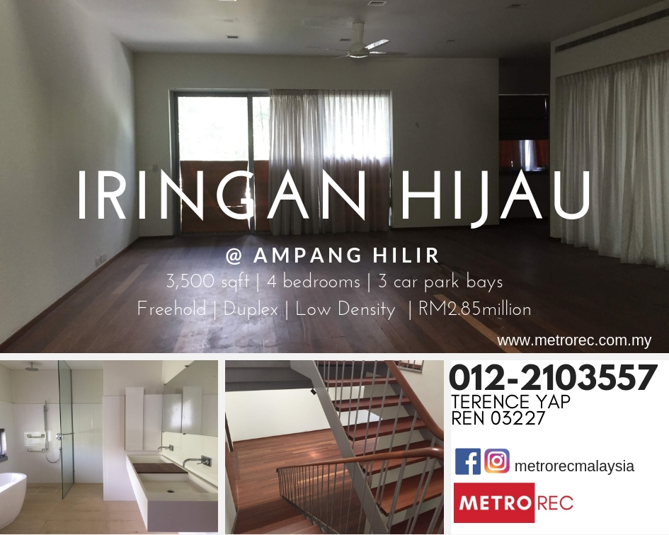Iringan Hijau, Ampang Hilir – For Sale
